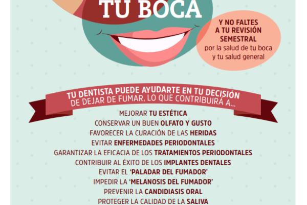 Día Mundial sin Tabaco, ¿cuidas tu boca?