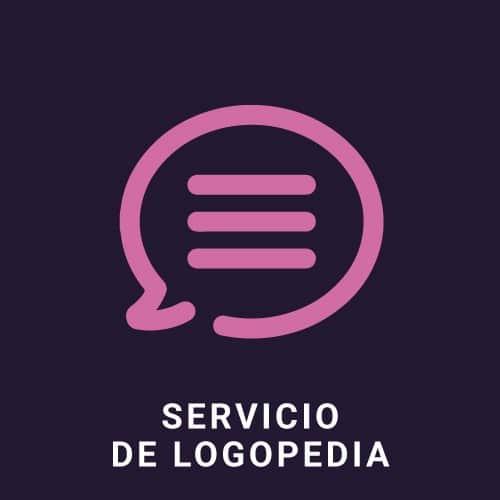 Servicio de logopedia